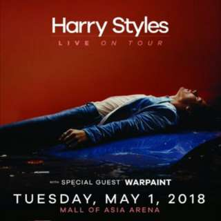 1 Harry Styles Live in Manila Lower Box A Ticket