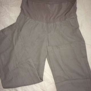 Linen Maternity Pants - Old Navy