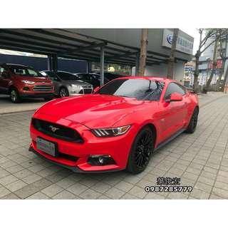 福特原廠認證中古車2015年Mustang GT 5.0野馬V8 美式經典雙門跑車