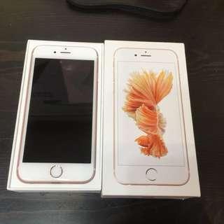 Iphone 6S 16G玫瑰金