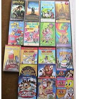 Kids Videos and DVD's