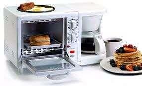 Azon brand New 2in breakfast  maker White