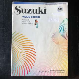 Suzuki Violin Book 1 with CD