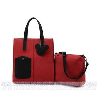 PhoebesXM2 2 in 1 sling Tote bag with free pouch MHR-5686