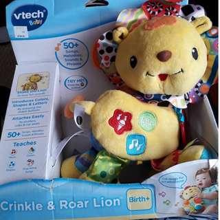 VTech Crinkles & Roar Lion