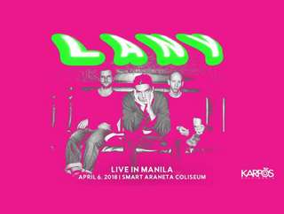 Lany in Manila Day 2 Upperbox Ticket