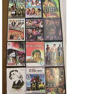 Bollywood DVD's