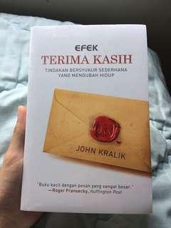 Efek Terima Kasih by John Kralik