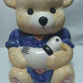 Bear made of ceramic