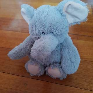 Intelex Microwavable Grey Elephant Plush