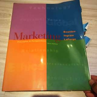 Marketing, Principles & Perspectives 3rd Ed