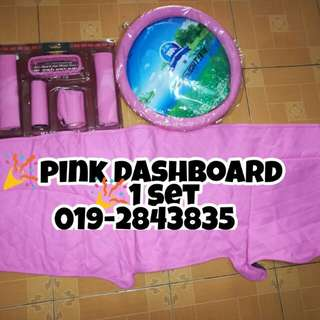 PINK SET DASHBOARD