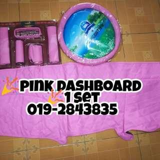 PINK SET DASHBOARD