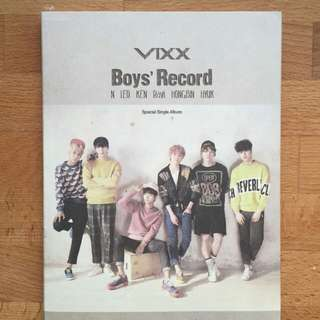VIXX BOYS RECORD ALBUM [PRELOVED]
