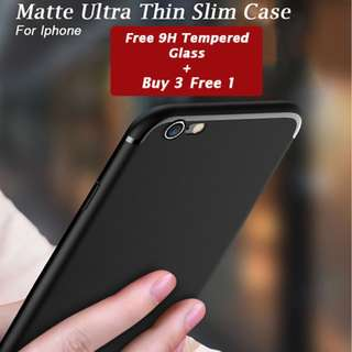 🔥Ultra Slim Soft Case Matte for Iphone 6/6s/6p/7/7p/8/8p/X