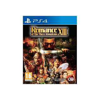 PS4 ROMANCE OF THE THREE KINGDOMS 13 - PAL