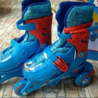 Thomas and Friends Roller Skate with helmet and knee pad