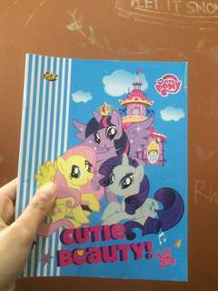 Buku tulis Little Pony