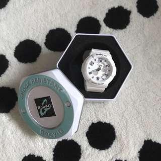 Baby-G White Resin Quartz Watch
