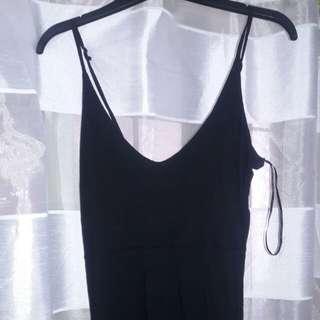Cotton On long black maxi dress