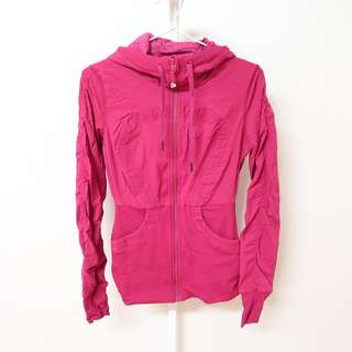 Lululemon Reversible Pink Yoga Jacket