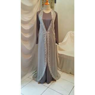 Long Dress Abu2 with Outer.