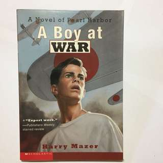 Boy at War (A Novel of Pearl Harbor) by Harry Mazer - Kids Love - Children's Books