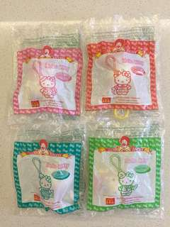 McDonald Toy - Hello Kitty Keychain