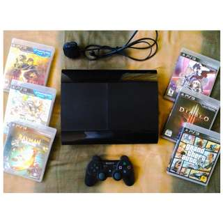 PS3 Super Slim 500GB (Black)