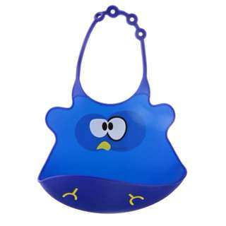 Ulubulu, Silicone Baby Bib, Hoot The Owl, 1 Piece