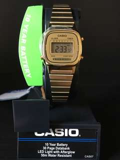 CASIO Gold Colour