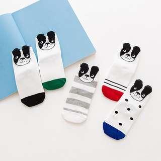 狗狗短襪 卡通短襪