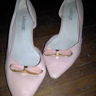 Baby pink sandals