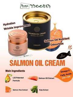 Authentic Salmon Oil cream by Cre8skin