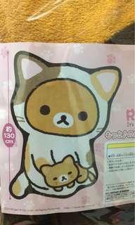鬆弛熊毛毯 日本夾娃娃景品