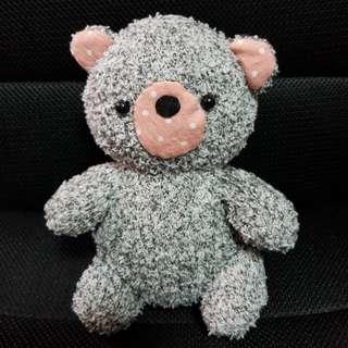 Bear sock plush toy 🐻