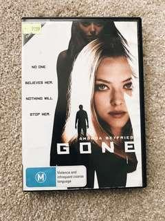 Gone DVD