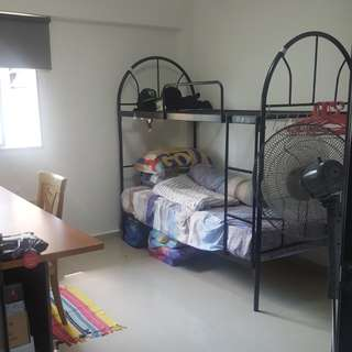 Common room for rental with aircon