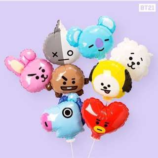 現貨❤️BT21 限量MANG 氣球 #BTS