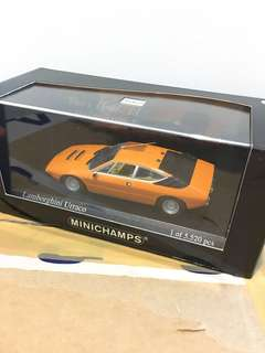 1/43 Lamborghini Uracco. 1974. Orange. Minichamps