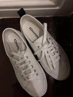 SUPERGA Leather Sneakers (BRAND NEW)