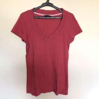 Folded & Hung V-Neck Shirt