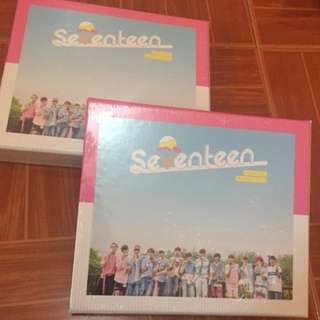 ON HAND SEALED ALBUM SEVENTEEN - Love Letter Repackage