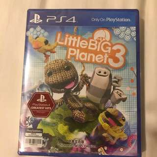 Brand New: Little Big Planet 3 PS4