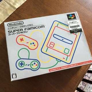 Nintendo Super Famicom w/ 21 classic games (Japanese)