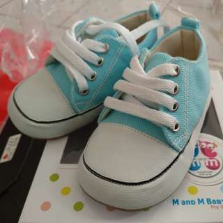 M and M baby shoes pre walker / sepatu bayi 6-9 bulan
