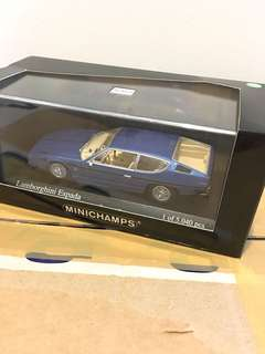 1/43 Lamborghini Espada. 1970. Blue Metallic. Minichamps