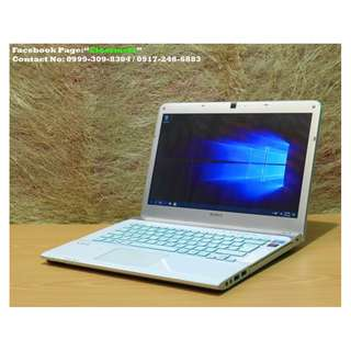 Sony Vaio Corei5 6gb 256ssd 14.1inch Win10 Laptop