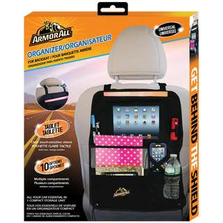 Armor All AS07-0115 Backseat Car Organizer(Black)