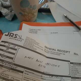 Proofs of shipping and receipts